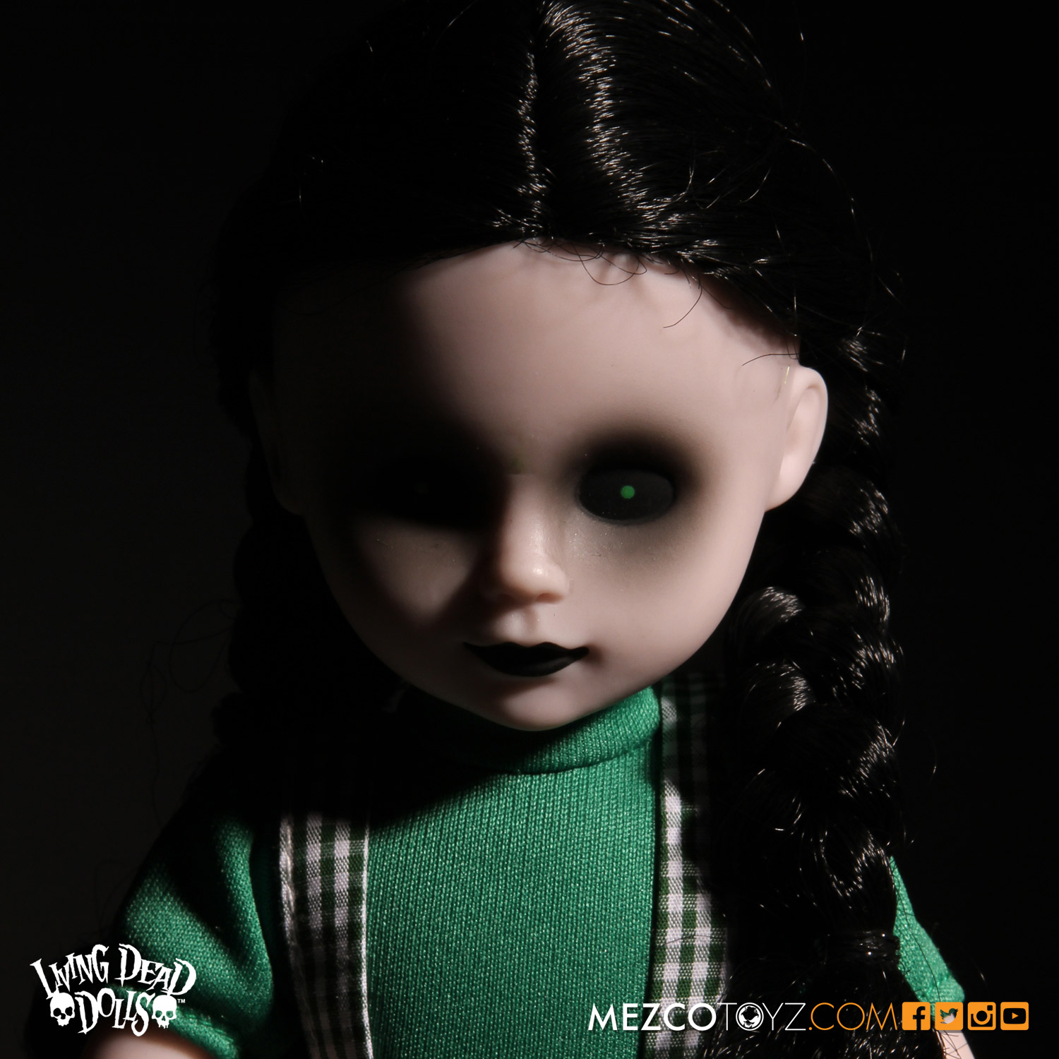 Living Dead Dolls Lost In Ox Emerald City Variants - Dorothy