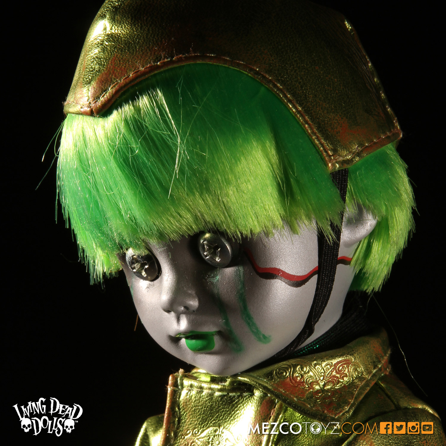 Living Dead Dolls Lost In Ox Emerald City Variants - Tin Man