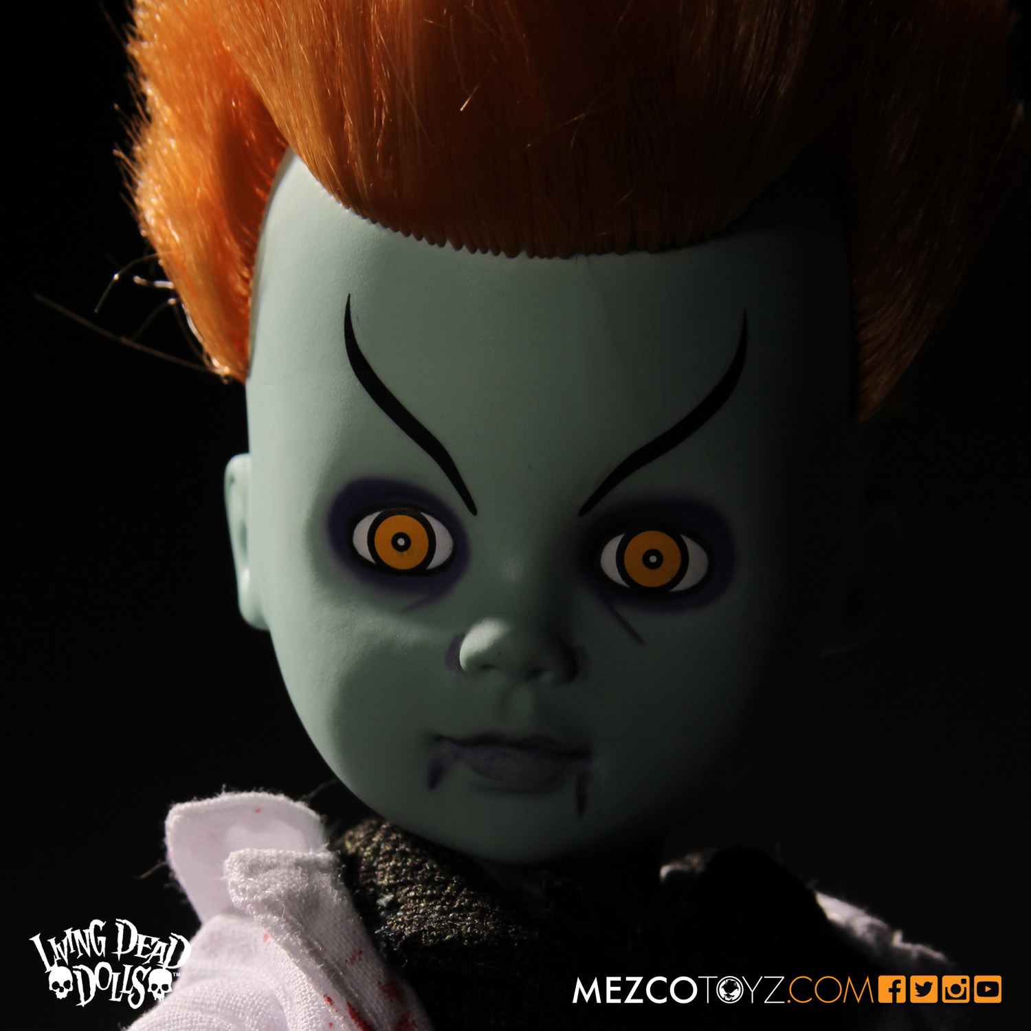 Living Dead Dolls Lost In Ox Emerald City Variants - The Wizard