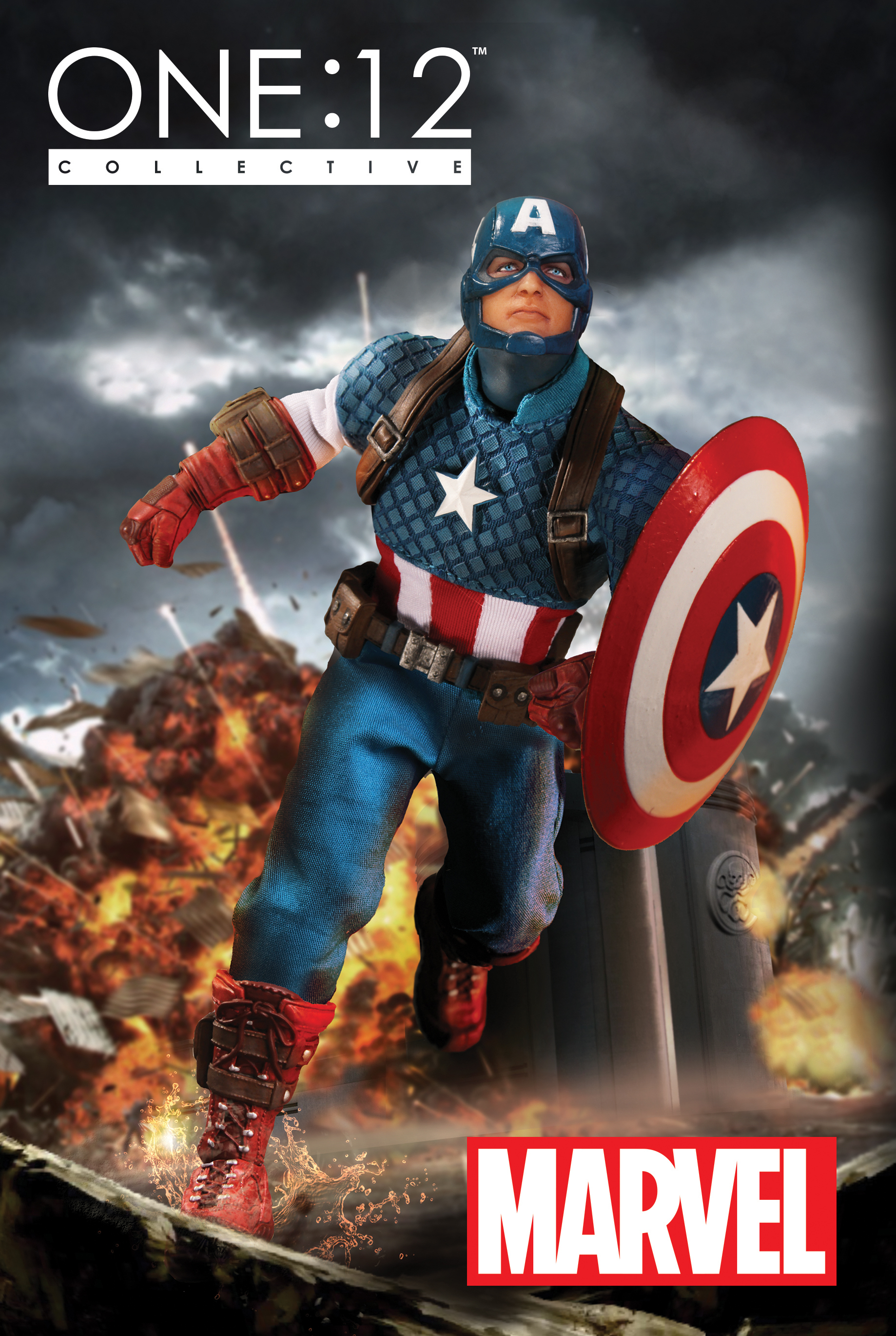 One:12 Collective - Marvel's Captain America