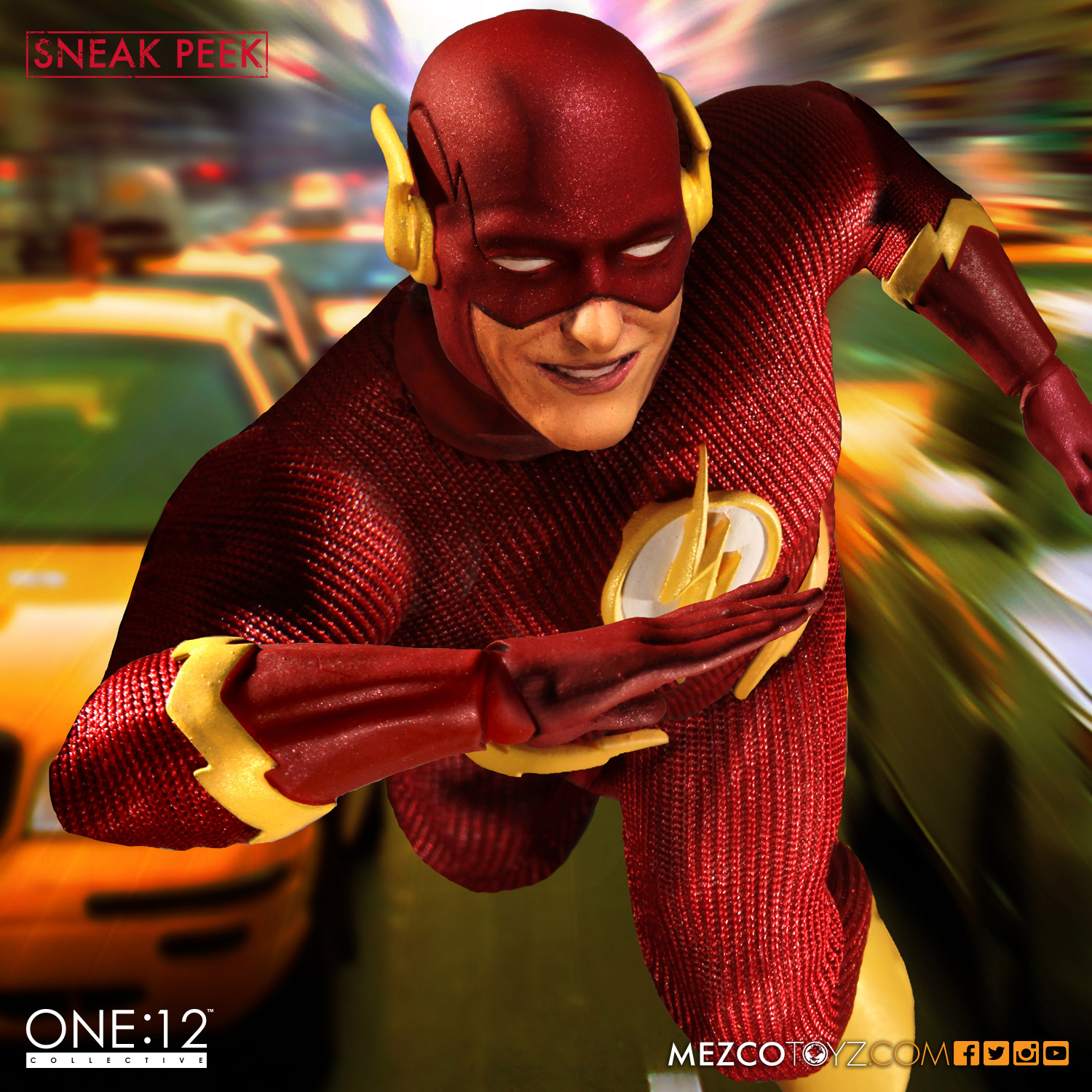 One:12 Collective the Flash prototype catalog shot