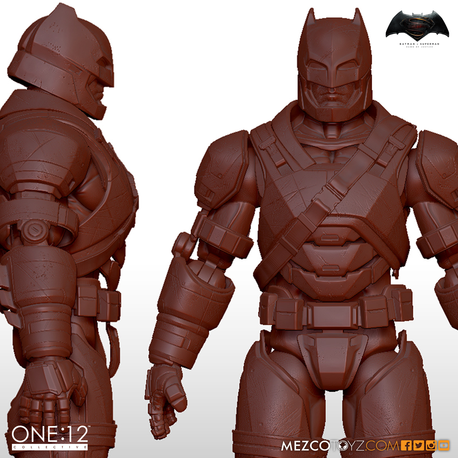 One:12 Collective Dawn of Justice Armored Batman