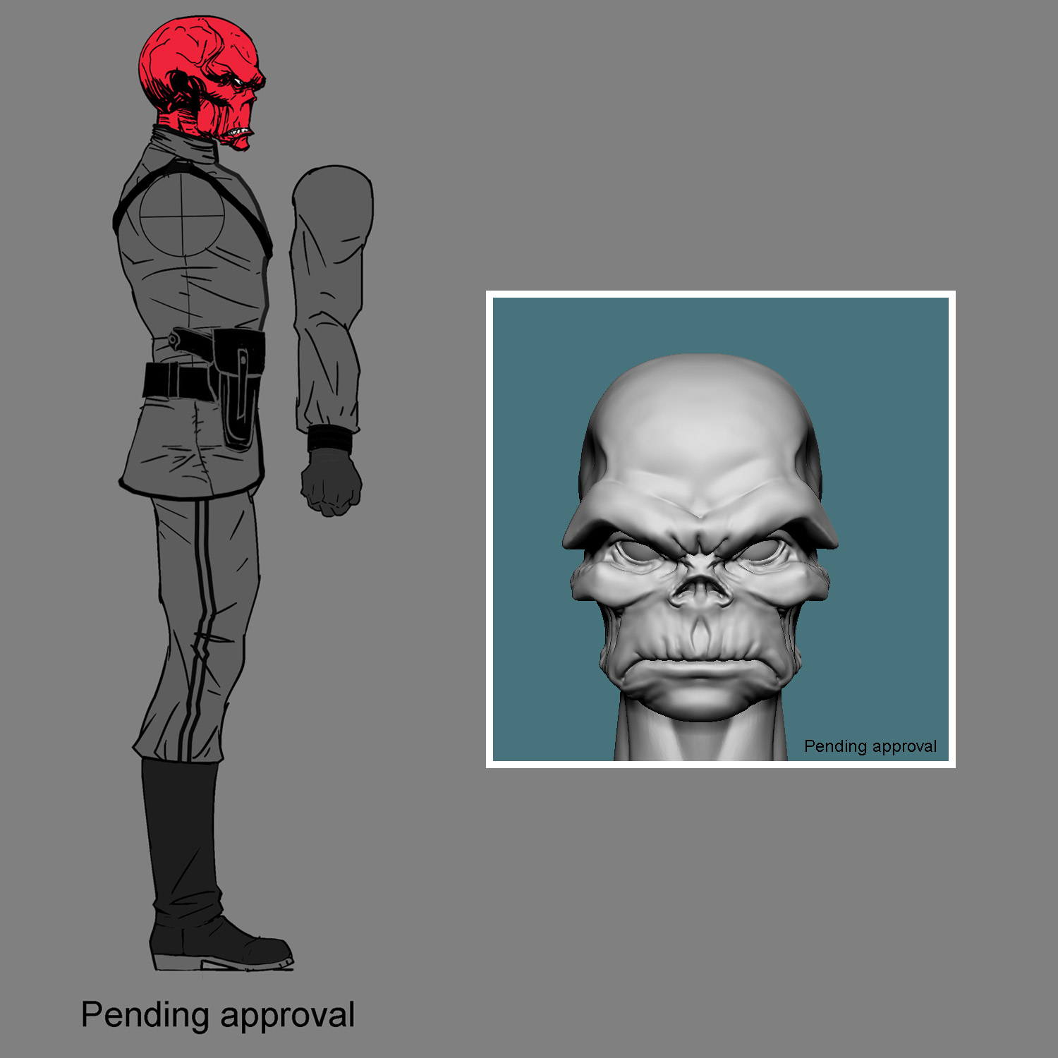 One:12 Collective Red Skull 6