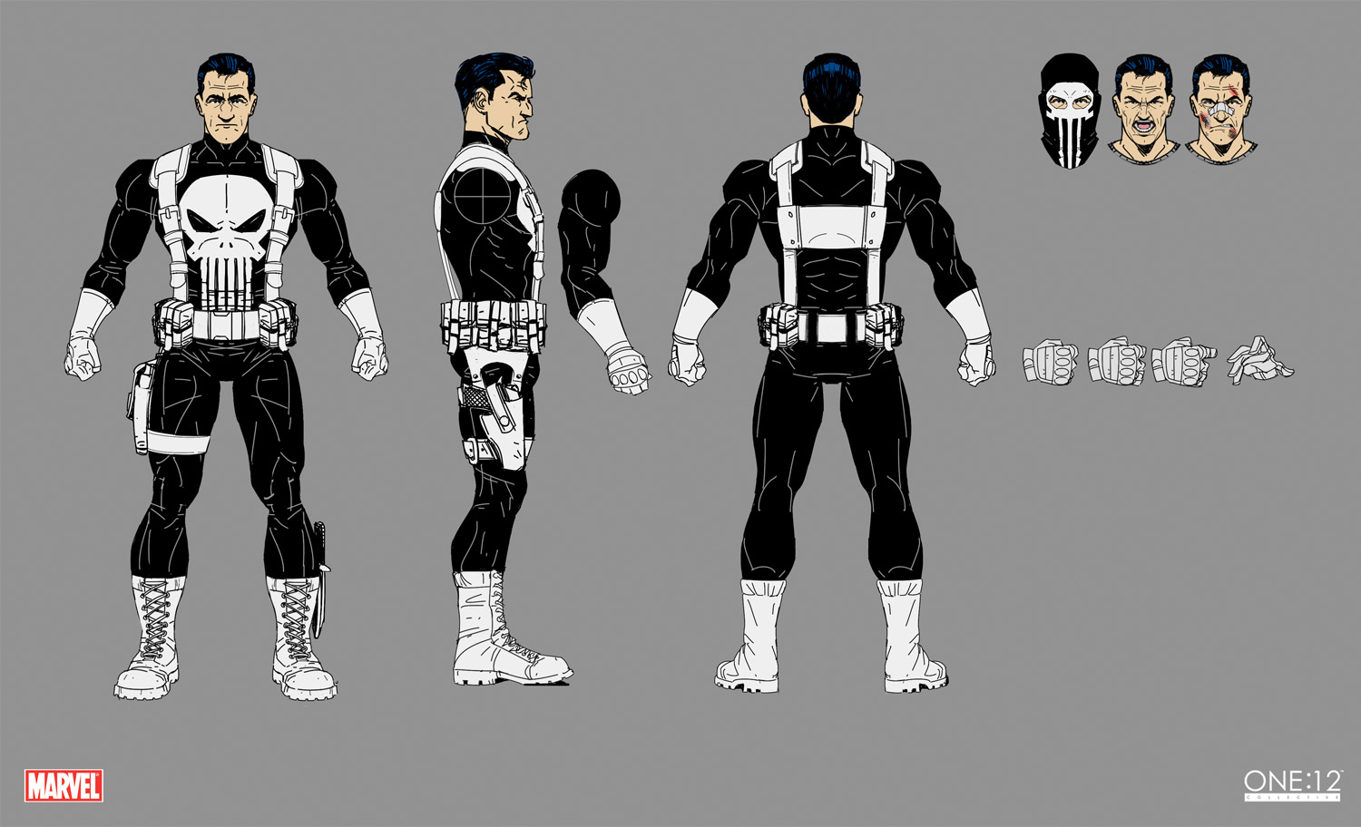 One:12 Collective Punisher Concept Art