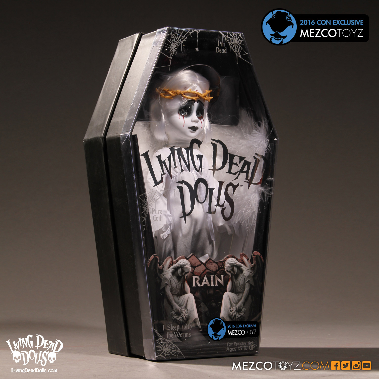 2016 Mezco Toyz Con Exclusives First Look: LDD Rain Packaging