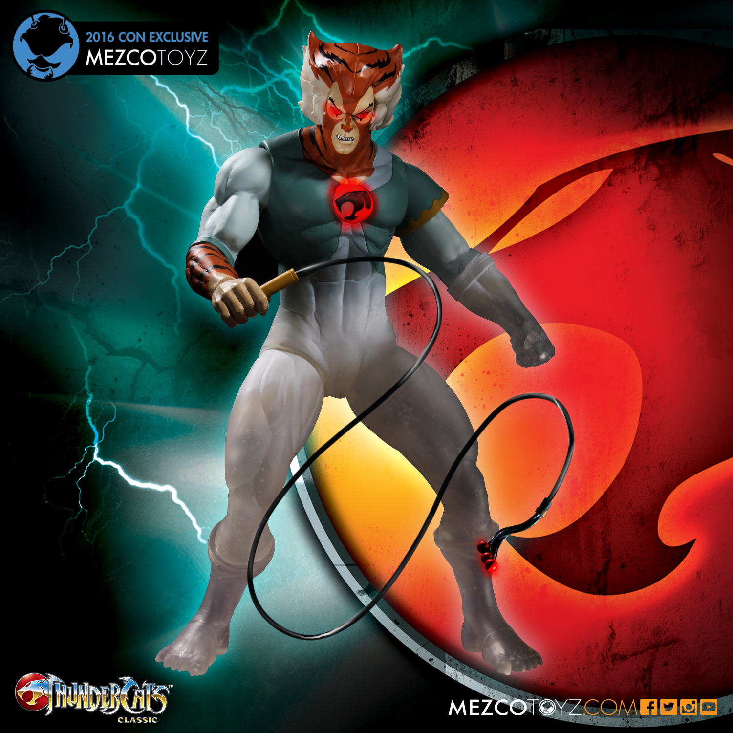 ThunderCats Mega Scale Phasing Tygra Convention Exclusive