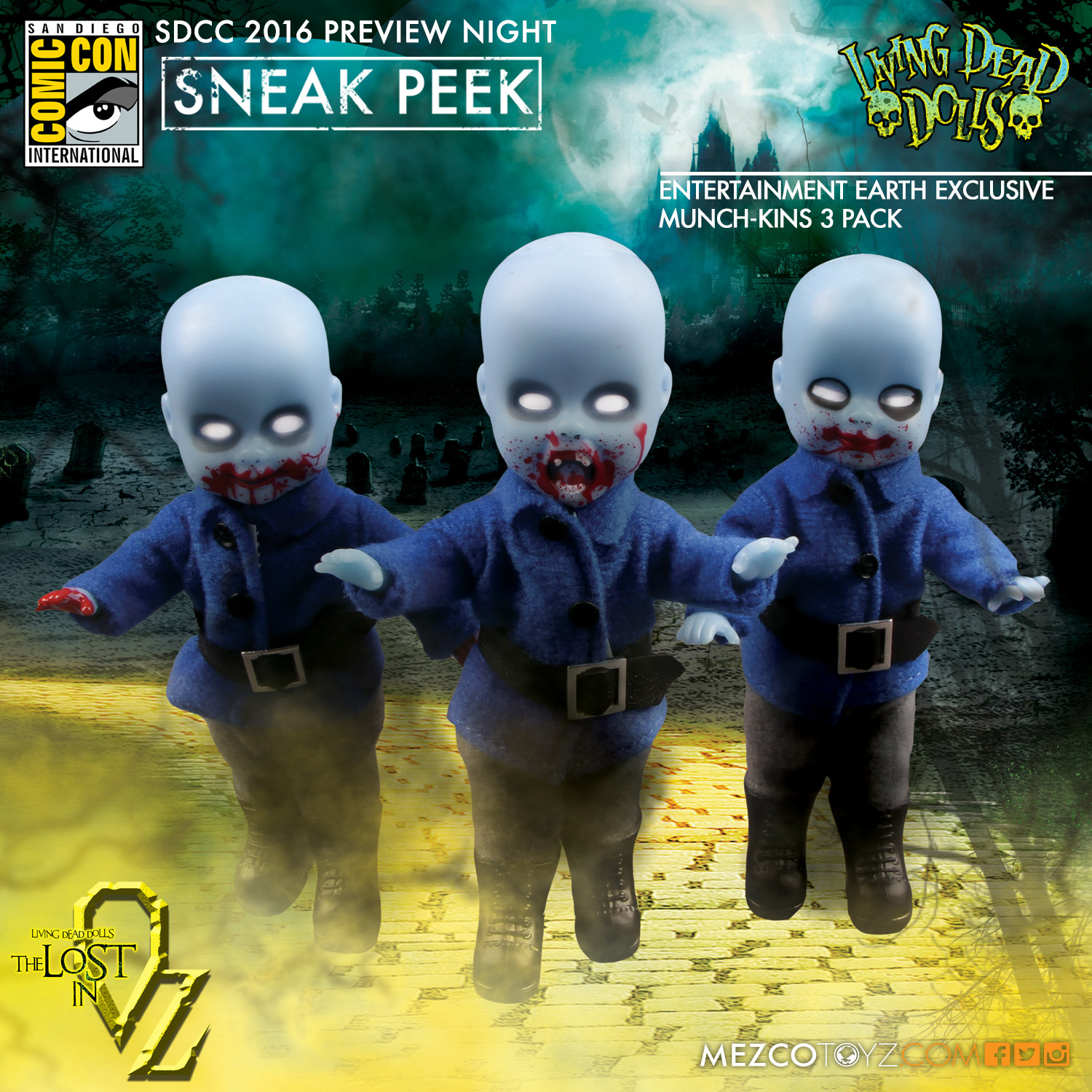 Living Dead Dolls Entertainment Earth Exclusive Munch-kins