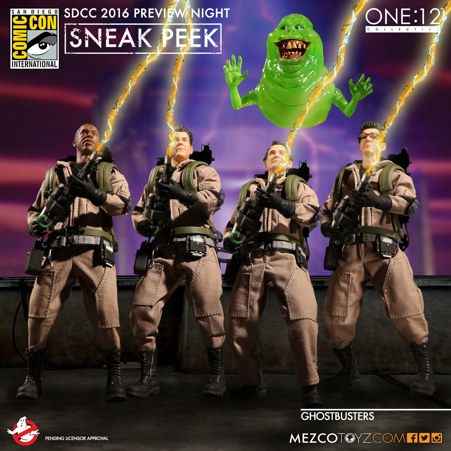 One:12 Collective Classic Ghostbusters