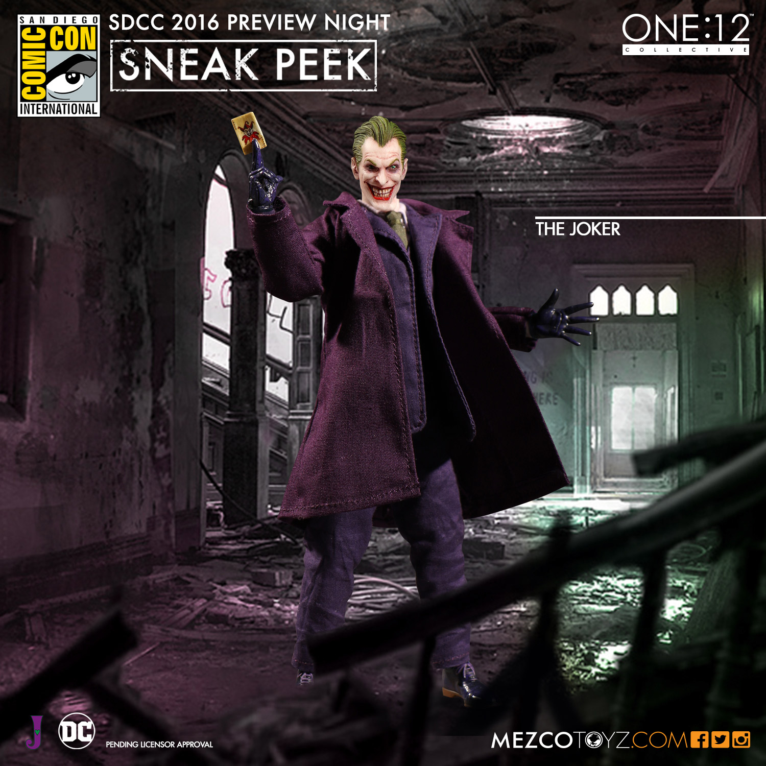 One:12 Collective DC Universe The Joker