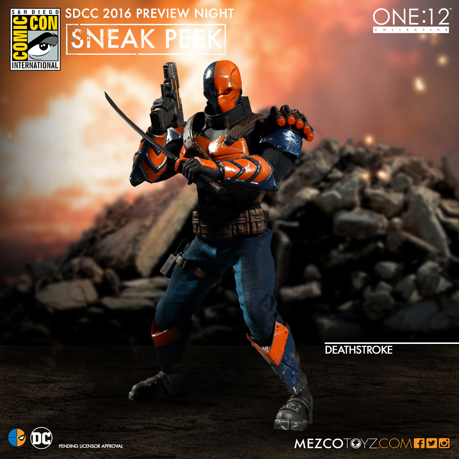 One:12 Collective DC Universe Deathstroke