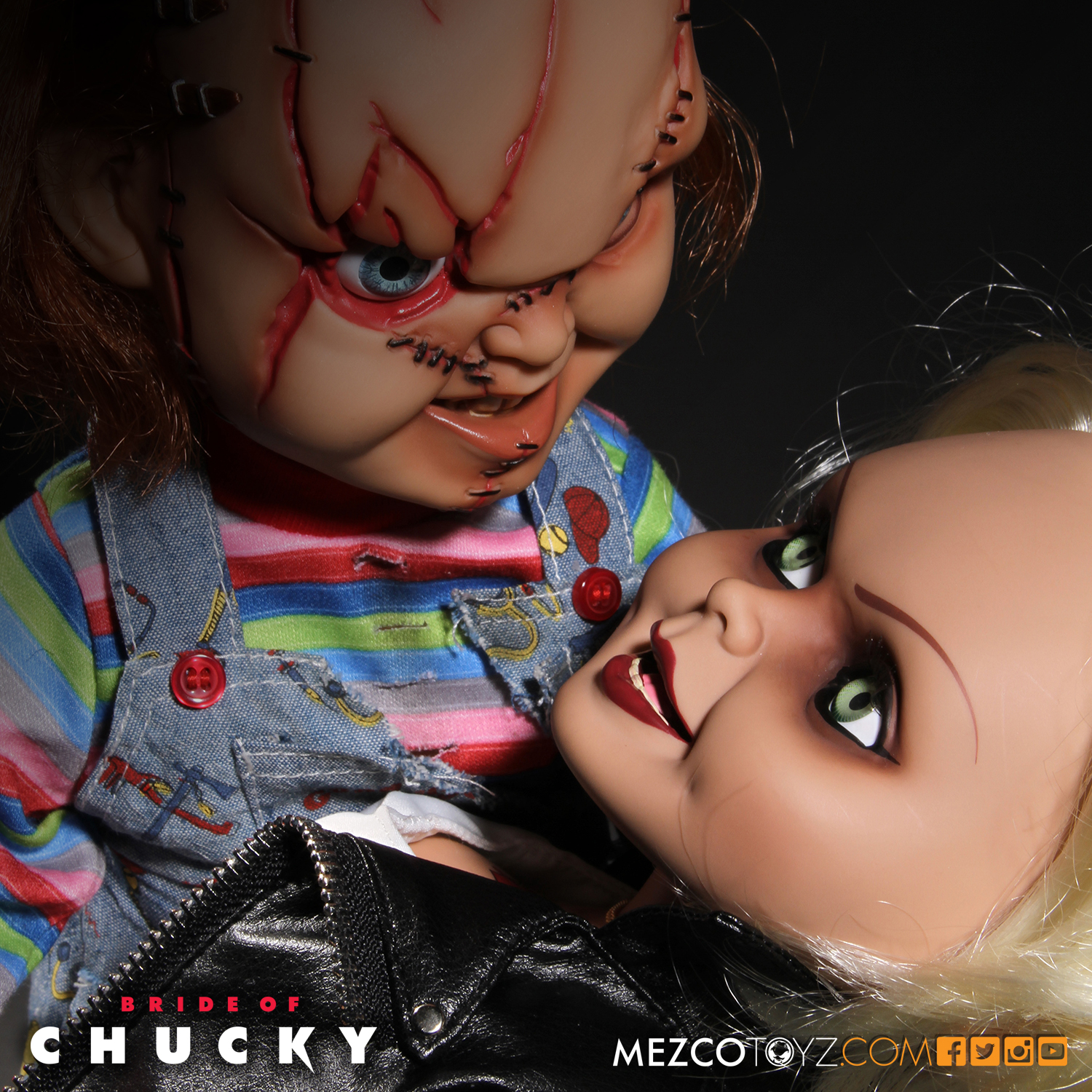 Chucky and Tiffany by Marc Witz