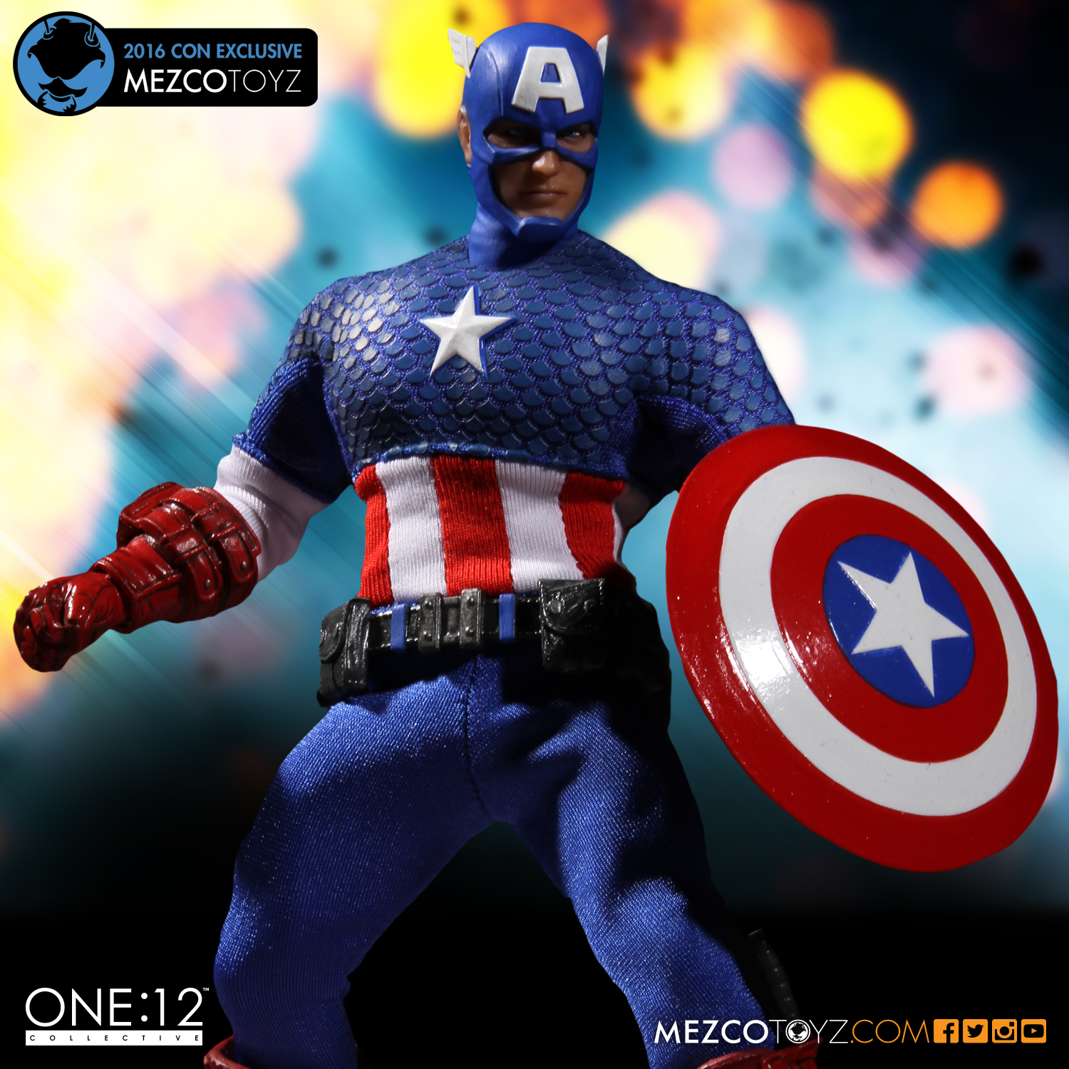 One:12 Collective Captain America by Marc Witz