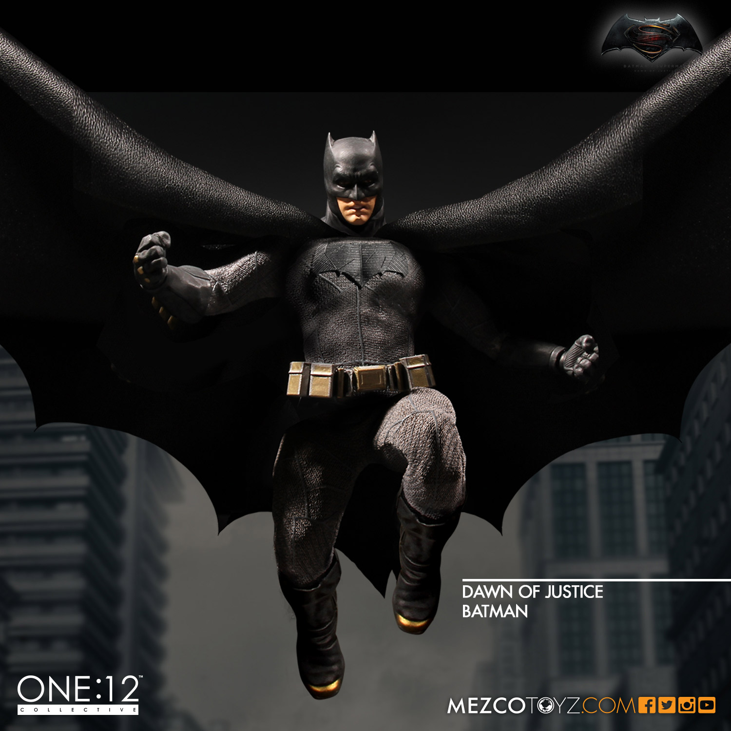 One:12 Collective Dawn of Justice Batman