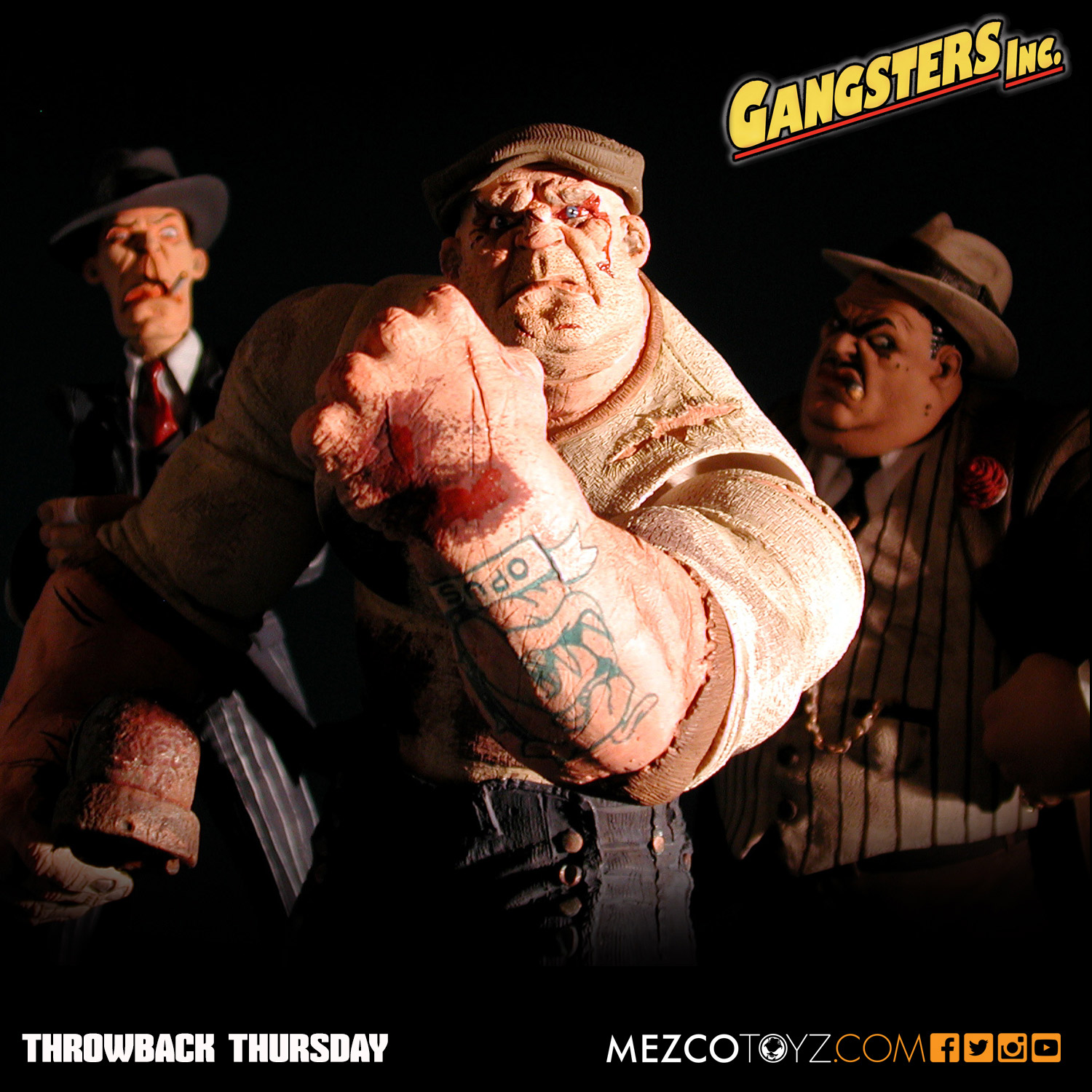 Mezco Toyz Gangsters Inc. Action Figures