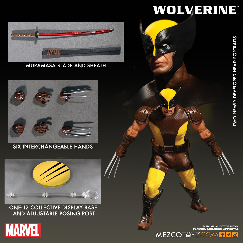 Mezco 2017 One:12 Wolverine