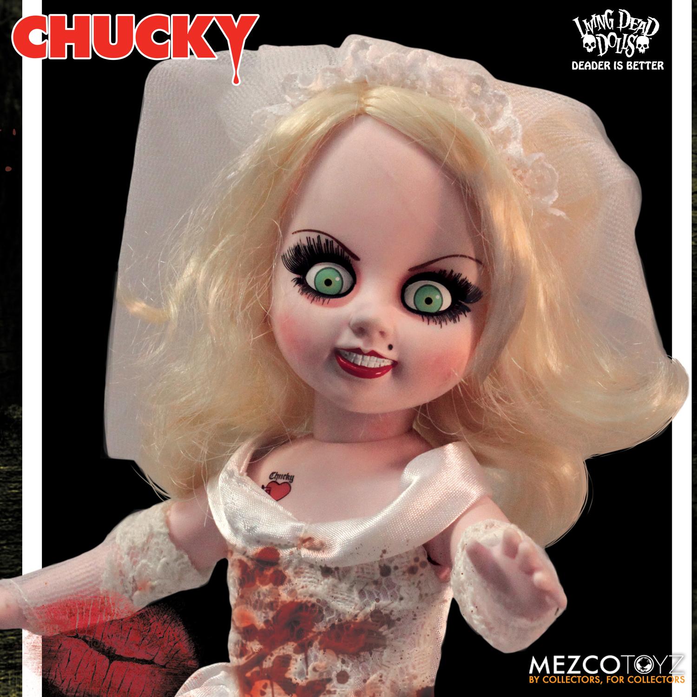 throwback thursday chucky and tiffany living dead dolls