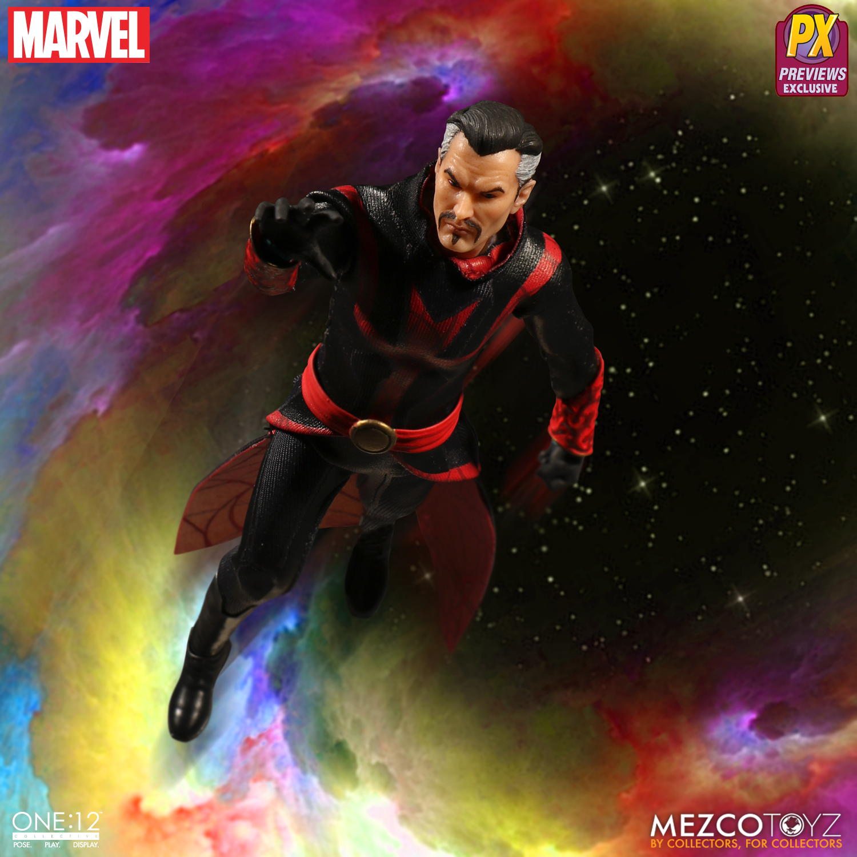 Strange Mezco Toyz 1//12 One 12 Collective PX Previews Defenders Dr New Rare