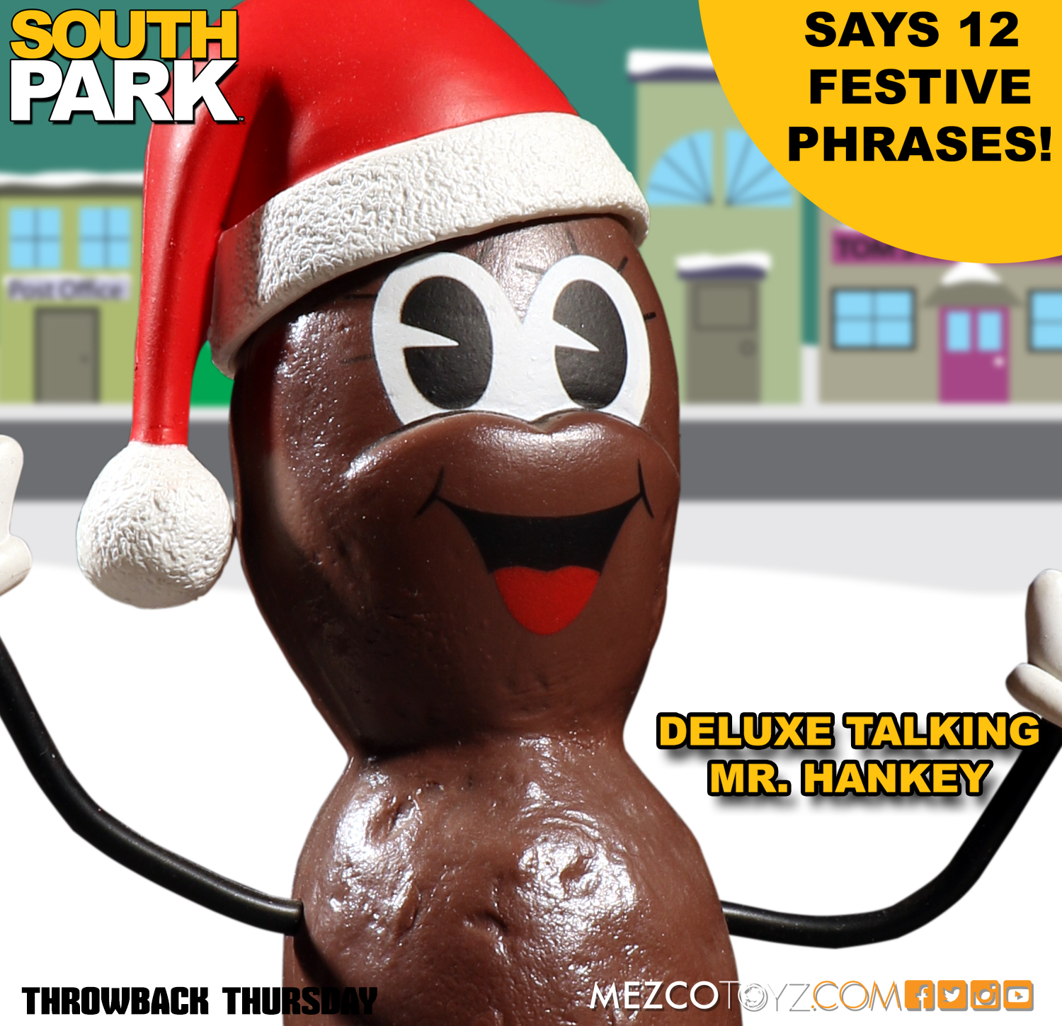 Mr Hankey Figur